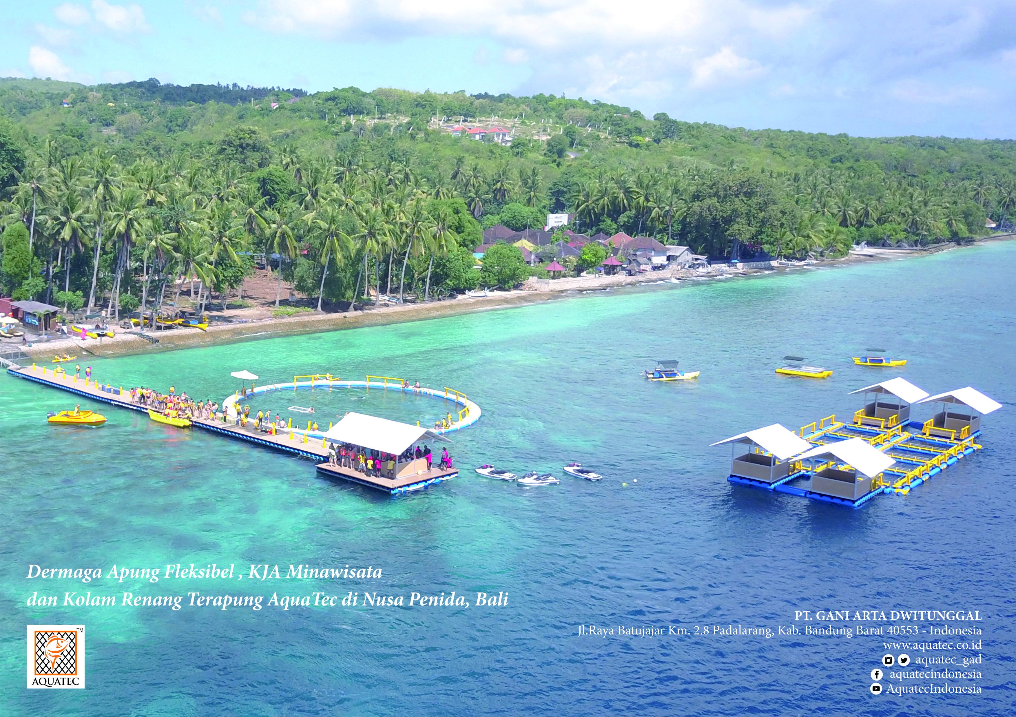 Role Of Aquatec Floating Dock In Improving Tourism Nusa Penida Paket Trip Bali Island