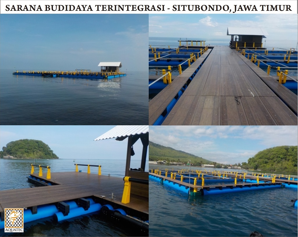 Aquatec Keramba Jaring Apung Dermaga Apung Dan Perahu Hdpe